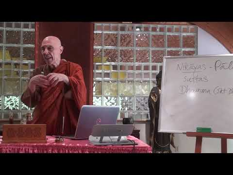 A Short Introduction to Buddhism Course by Ven. Bhikkhu Bodhi - 1 (July 15th, 2018)