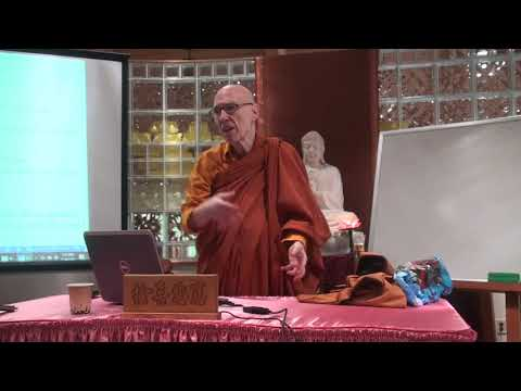 A Short Introduction to Buddhism Course by Ven. Bhikkhu Bodhi - 2 (July 29th, 2018)