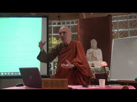A Short Introduction to Buddhism Course by Ven. Bhikkhu Bodhi - 4 (August 12th, 2018)