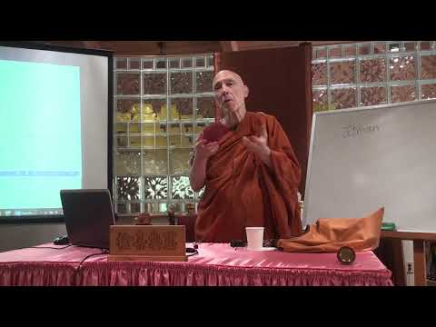 A Short Introduction to Buddhism Course by Ven. Bhikkhu Bodhi - 3 (August 5th, 2018)