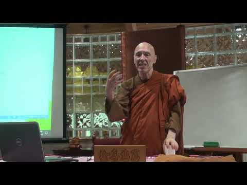 A Short Introduction to Buddhism Course by Ven. Bhikkhu Bodhi - 5 (August 19th, 2018)