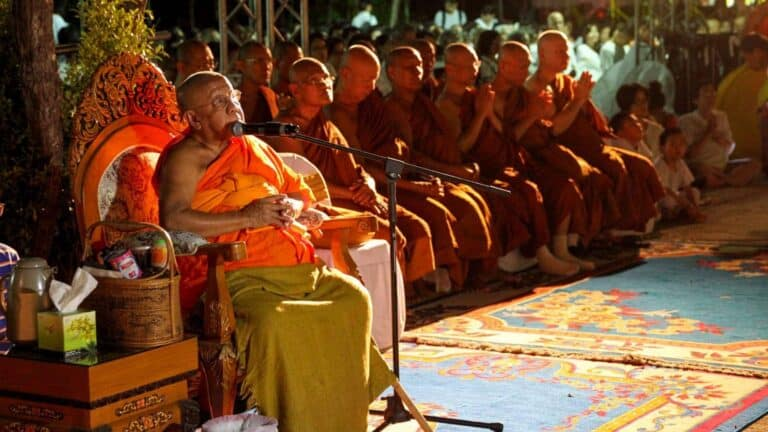 Images of the Bodhgaya Temple Opening Ceremony